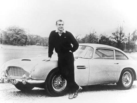 Aston Martin DB5 With Sean Connery